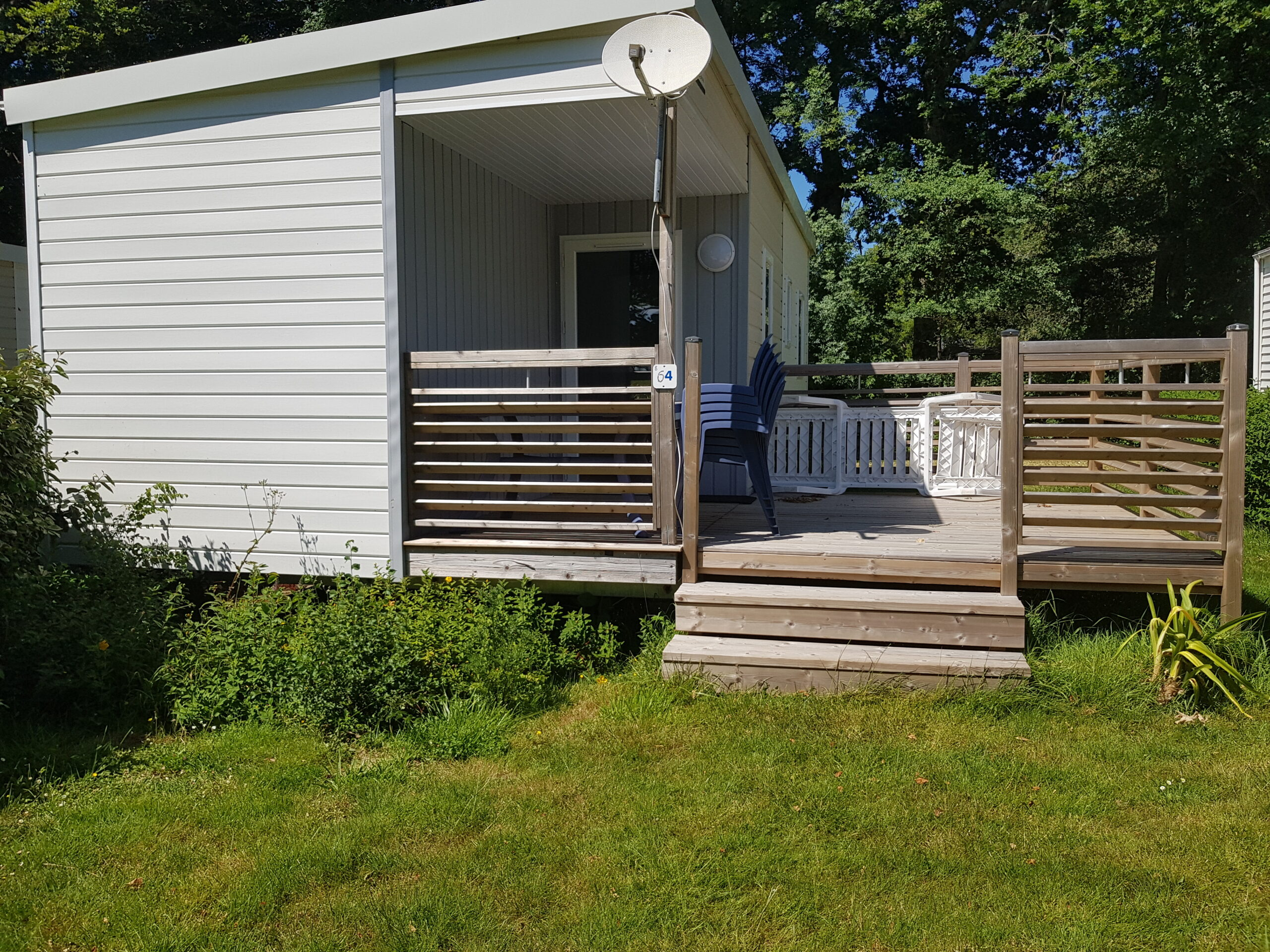 Mobil-home 3 chambres Camping de Locouarn