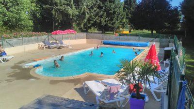 Camping piscine chauffée Clohars-Carnoët
